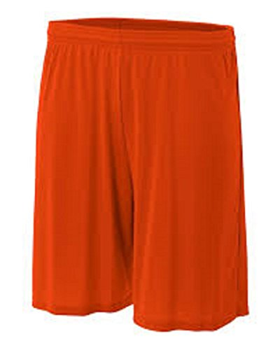 - Soffe Heavy Weight Orange Jersey Short-MEDIUM