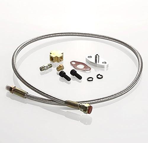 Arlows Öl Zulaufleitungs Anschlußkit Für Garrett Turbolader Gt28 Gt30 Gt35 Gtx30 Gtx35 Auto