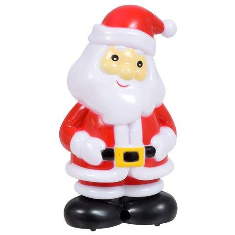 Navidad casa movimiento plástico de Papá Noel y muñecos de nieve, 1 en cada: Amazon.es: Hogar