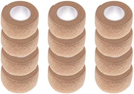12 PCS Non-Woven Self-Adhesive Bandage für Sport Sport