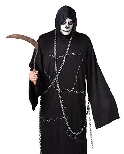 Men's Ghostly Ghoul Costume - ACCESSORIES NOT INCLUDED (S)