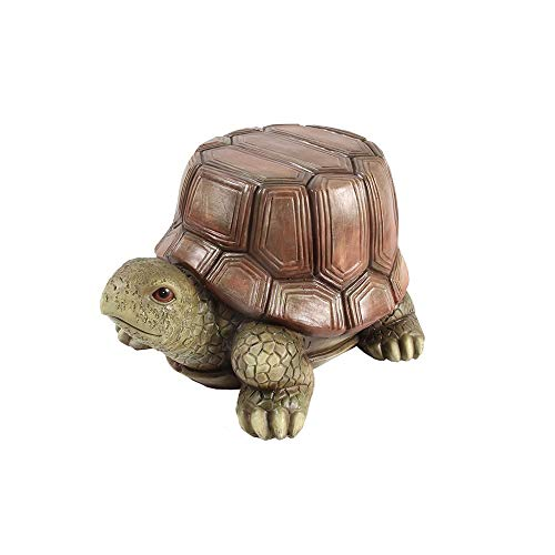 (Funlea American Lovely Animal Children's Room Sofa Stool Seat Home Bedroom Adults Makeup Chair Household Living Room Low Footstool Resin Changing Shoes Bench for Home Decoration (Color : Turtle))