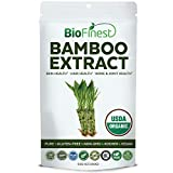 Cheap Biofinest Bamboo Extract Powder – Pure Gluten-Free Non-GMO Kosher Vegan Friendly – Supplement for Bone and Joint Health, Hair Health, Immune Health, Skin Health (250g)