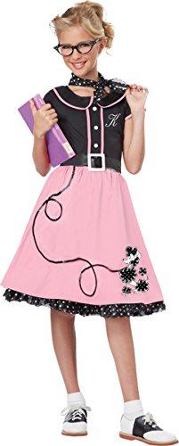 Morris Costumes 50S Sweetheart Child Lg -