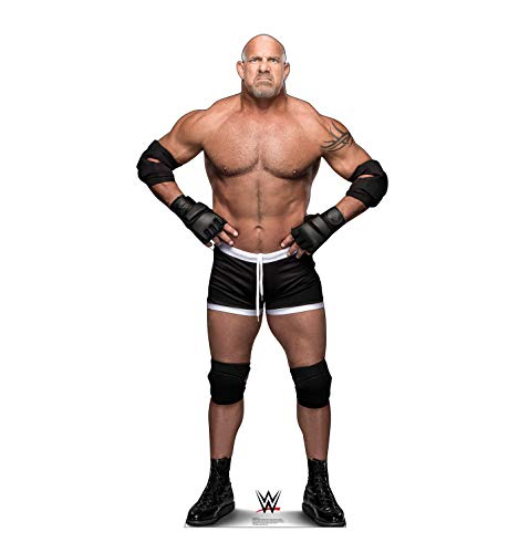 Advanced Graphics Goldberg Life Size Cardboard Cutout Standup - WWE