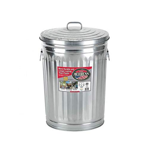 Behrens Locking Lid Can, 20-Gallon (20-Gallon)