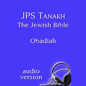 The Book of Obadiah: The JPS Audio Version Audiobook