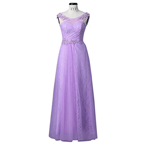 Violett Kleid Empire Kleid Drasawee Drasawee Empire Drasawee Damen Violett Damen waaq1fnzP