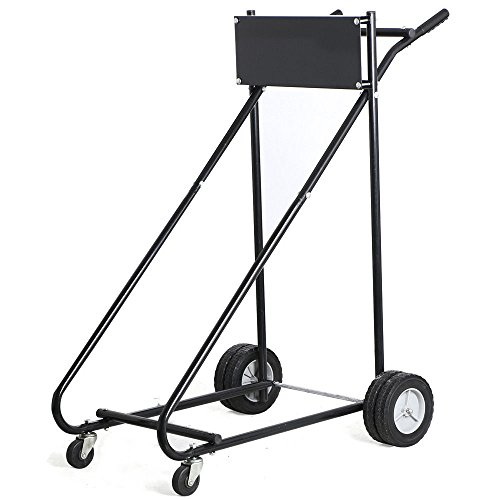 315 LB Outboard Boat Motor Stand Carrier Cart Dolly Storage Pro Heavy Duty New + FREE E-Book by Eight24hours