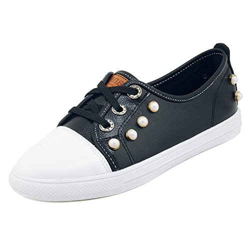 Coolcept Women Spring Sneaker Shoes Black x8OrKBAOHR