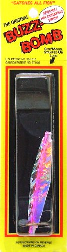 2.5 inch BuzzBomb Sonic Lure – Holographic Pink For Sale