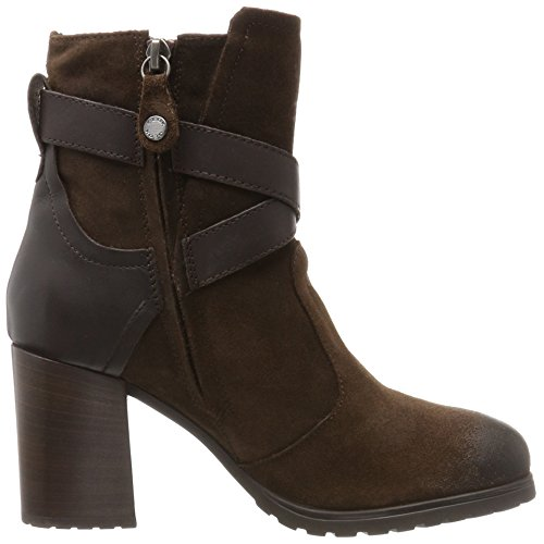 Geox D New Lise High I, Bottes Femme Marron (Coffee/coffee)
