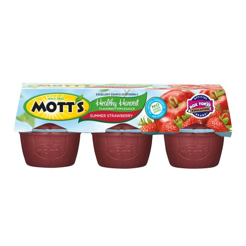 Motts Healthy Harvest (Mott's Healthy Harvest, Summer Strawberry, 3.9-Ounce Cups (Pack of 36))