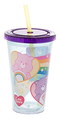 Mug Bears Care - Vandor Care Bears 18 Ounce Acrylic Travel Cup (29014)