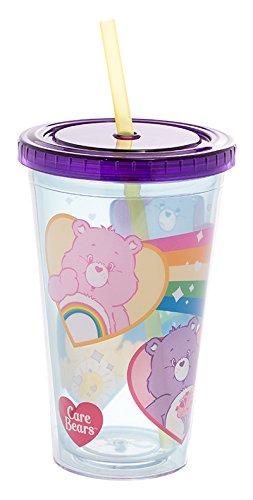 Vandor Care Bears 18 Ounce Acrylic Travel Cup (29014)