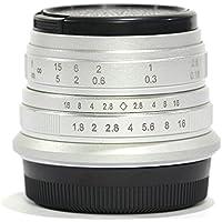 Pixco 25mm F1.8 HD.MCManual Focus Lens for FX Fujifilm X-A3 X-T2 X-Pro2 X-E2S X-T10 X-A2 X-E2 X-T1IR X-T1 X-E1 X-A1 X-M1 X-Pro1 X-T20