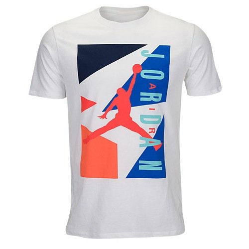best sneakers a4a57 1bb69 Men s Air Jordan Retro  92 T-Shirt White 2XL