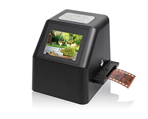 Film-Scanner, Filmnegative und Foto konvertieren gleitet in digitale Dateien JPG | 14 Megapixel (22MP Max) Scanner f¨¹r 35mm Film Dias und negative, 110 Film, 126 Film 135 Film - enth?lt jetzt kostenlos 8GB Speicherkarte! (14 Mega-Film-Scanner-FS611C)