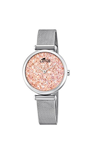 Women's Watch Lotus - L18564/4 - Crystals from Swarovski - Milanese Band by Lotus
