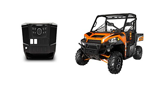 Rockford Fosgate Polaris Ranger PMX-0 Digital Media Bluetooth Receiver+Dash Kit ()