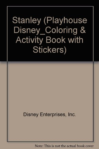 Stanley (Playhouse Disney_Coloring & Activity Book with Stickers)