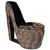 Amazon.com: Leopard High Heel Shoe Chair: Kitchen & Dining