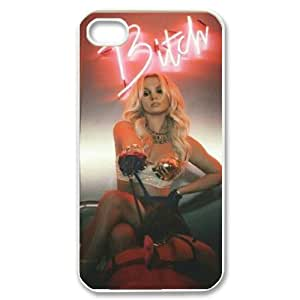 C-EUR Customized Print Britney Spears Pattern Back Case for iPhone 4/4S by lolosakes