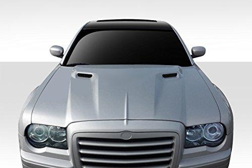 Duraflex ED-IWW-803 Challenger Hood - 1 Piece Body Kit - Compatible For Chrysler 300 2005-2010