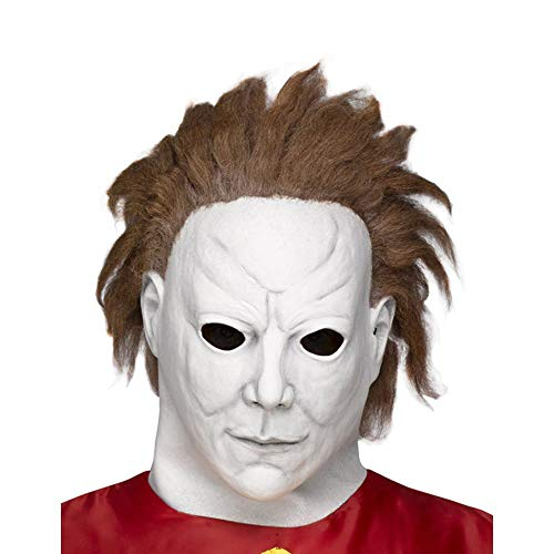 Fun World Unisex-Adult's Michael Myers-Beginning Mask, Multi Standard ()