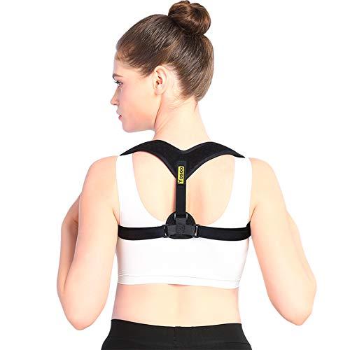 Posture Corrector with Adjustable Clavicle Brac...