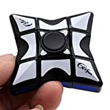 DHmart High Qualitity Smooth and Speed 1x3x3 Rubiks Cube Puzzle Spinner Focus EDC Toy for Relieving Toys for ren