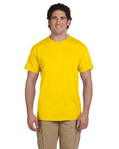 - Gildan Adult Short Sleeve T in Daisy - Medium