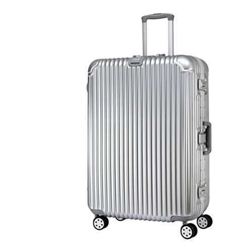 american-traveler-pressure-resistant-suitcase-glossy-durable-abs-pc-suitcase-with-360-degree-spinner