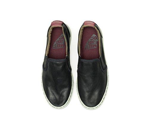 Satorisan Donna Pelle Nero Napa Soumei Sneakers Punch q8dBUvrq