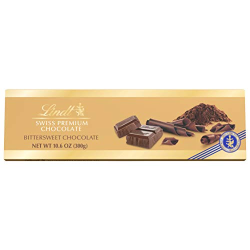 - Lindt Swiss Bittersweet Chocolate Bar, 10.58-Ounces Packages (Pack of 4)