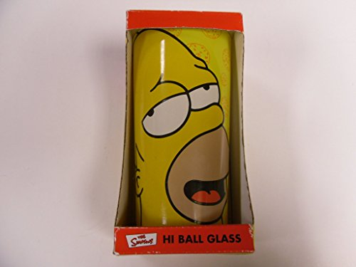 The Simpsons Homer Hi Ball (Fox Highball Glass)
