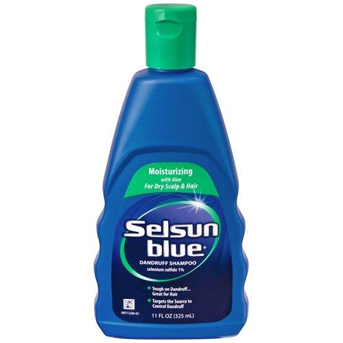 Selsun bleu hydratant Shampooing à l'Aloe - 11 Oz, Pack 3
