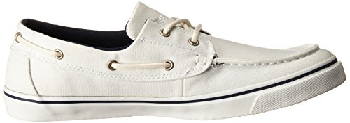 Timberland Hombres Newmarket Boat Oxford Blanco