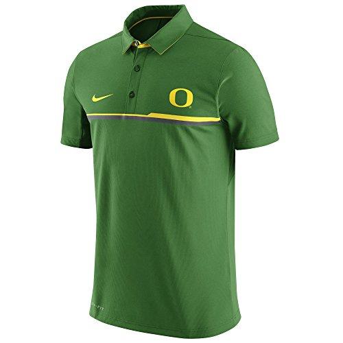 NIKE Oregon Ducks Dri-Fit Elite Coaches Sideline Performance Polo Shirt ()