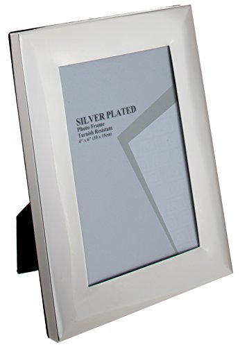 Unity Thick Rim Silver Plated Picture Photo Frame - Numerous Sizes (3.5 x 5) Silver Rim Picture Frame