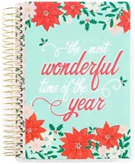 Creative Year Christmas Mini Holiday Planner By Recollections Undated Horizontal Weekly Layout The Most Wonderful Time Of The Year Buy Online At Best Price In Uae Amazon Ae