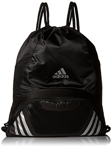 adidas Team Speed II Sackpack, Black, 19 x 14.75 x 2-Inch