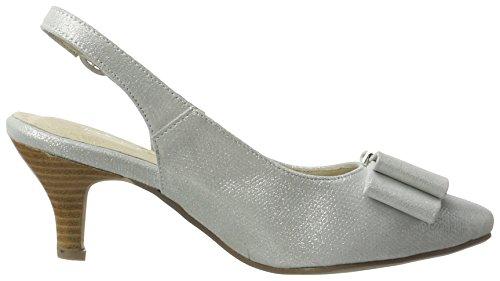 Andrea Konti Dame Pumps 1003461 Silber (sølv) Ek8QrSy