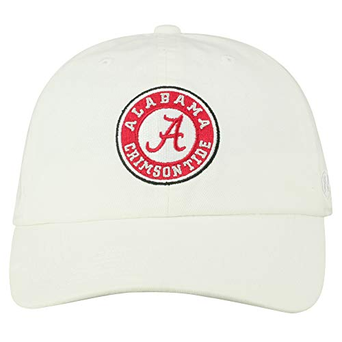 detailed look c3605 5cfc6 Top of the World NCAA Men s Hat Adjustable Relaxed Fit White Icon