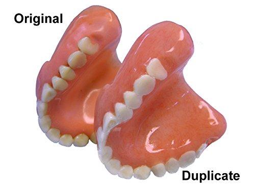 Denture Repair Lab - Duplicate Denture - Denture Repair - Denture Duplication - New Denture - Copy Denture - Spare Denture - Denture Clone - Denture Teeth Repair ()