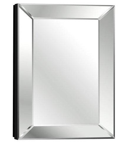 Pace 18″ Mitered Beveled Mirror Medicine Cabinet