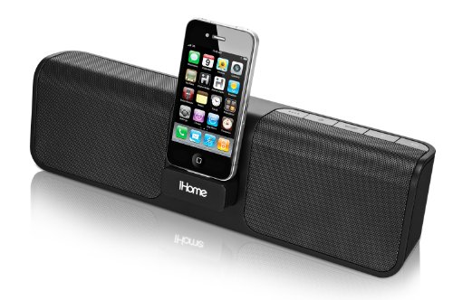 iHome iP46 Portable 30-Pin iPod/iPhone Speaker Dock by Sound Design