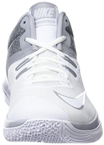 Nike II Chaussures Air de Grey Blanc Basketball Versitile Homme White 101 Wolf rEqrB