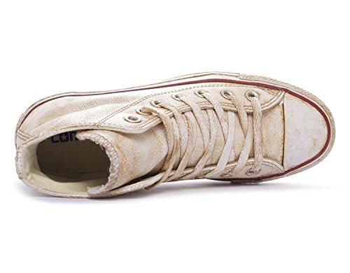 Converse All Star Hi Leather LTD White/Gold Fade 1C14FA30 EU45
