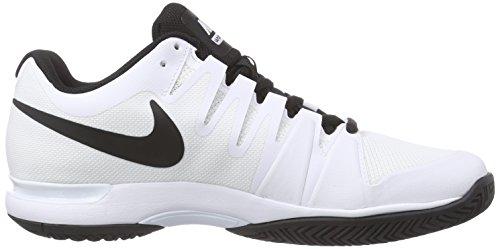 Mens Nike Zoom Ånga 9,5 Tour Tennisskor (vinter 2017 Färger) Vit / Svart